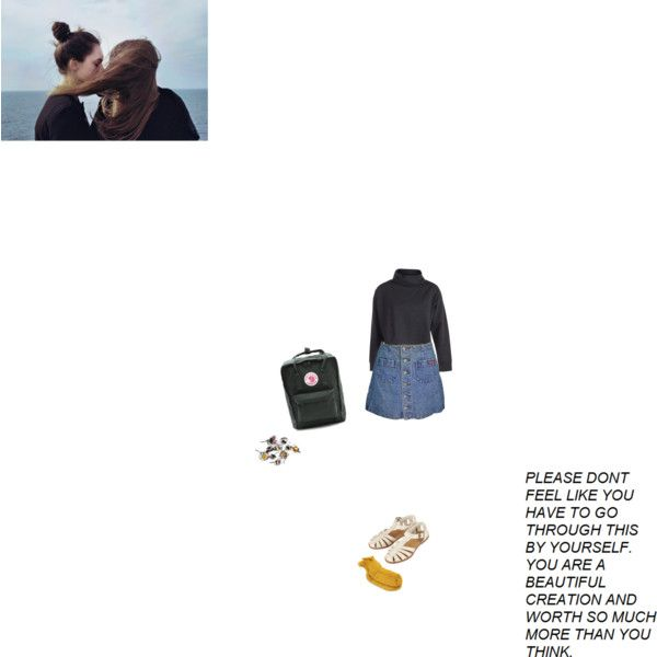My love my darling my girl by monophysitism on Polyvore featuring polyvore, fashion, style, Pieces, Polder, Topshop and FjÄllrÄven