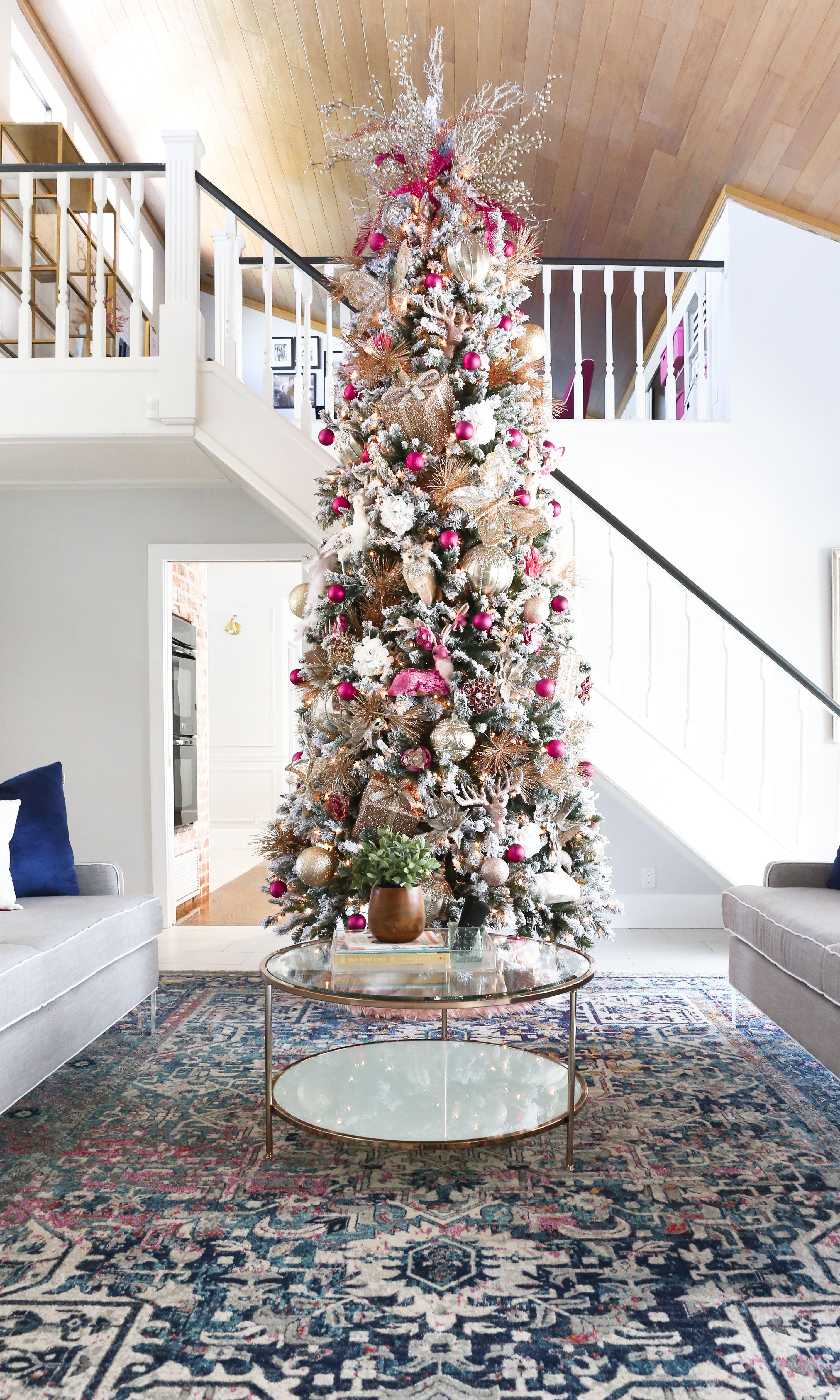 12 Christmas Tree Decorating Ideas (With images) Elegant