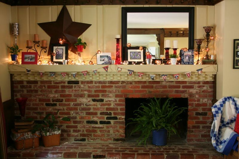 Decorating A Long Mantel I Never Know How To Decorate Our Long Mantle Long Mantel Decorating Ideas Mantle Decor Long Mantle Decor