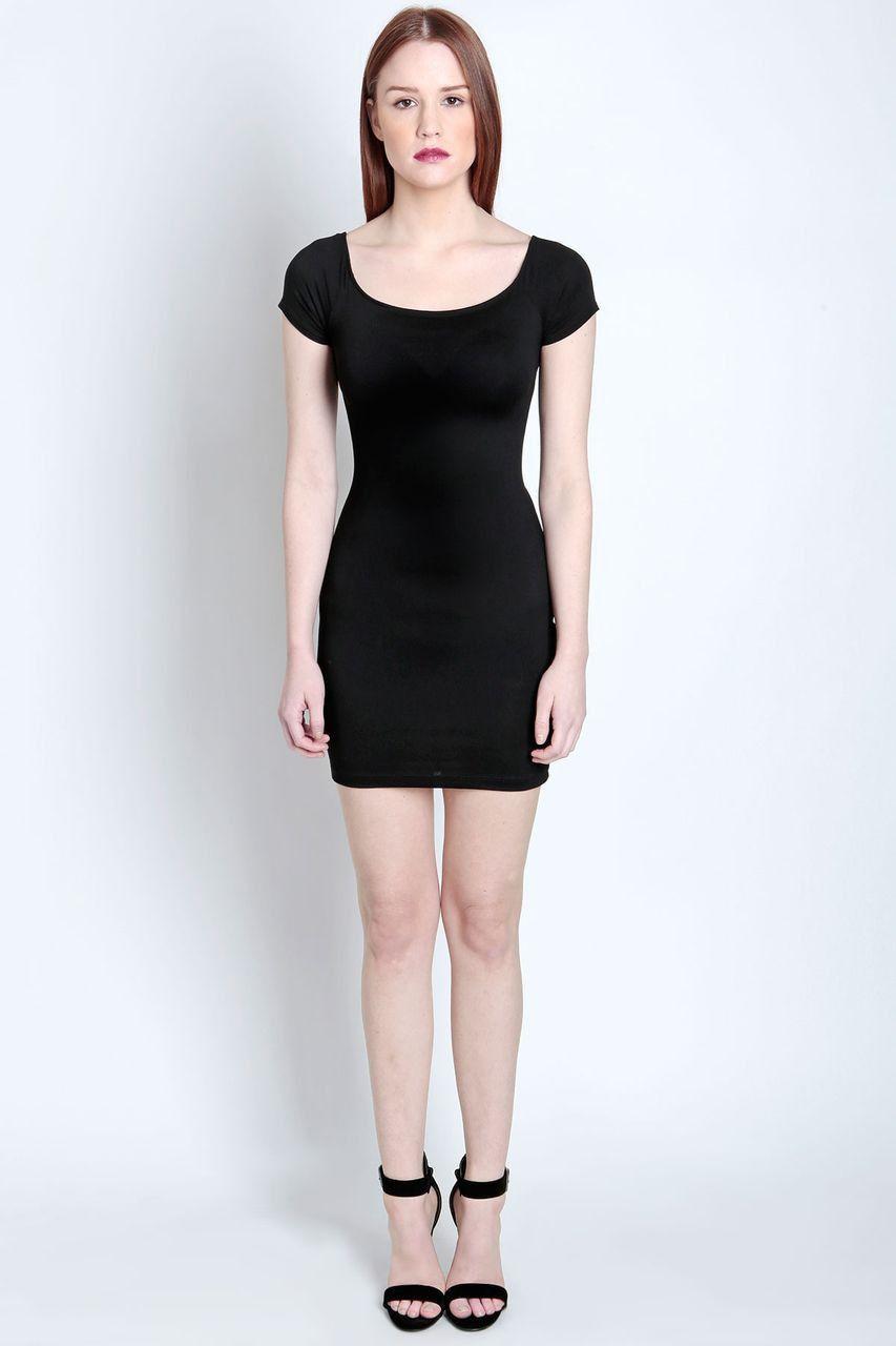 Sabrina Jersey Mini Dress