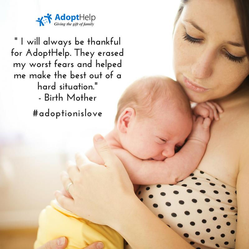 About Adopthelp Us Adoption Domestic Adoption Birth Mother