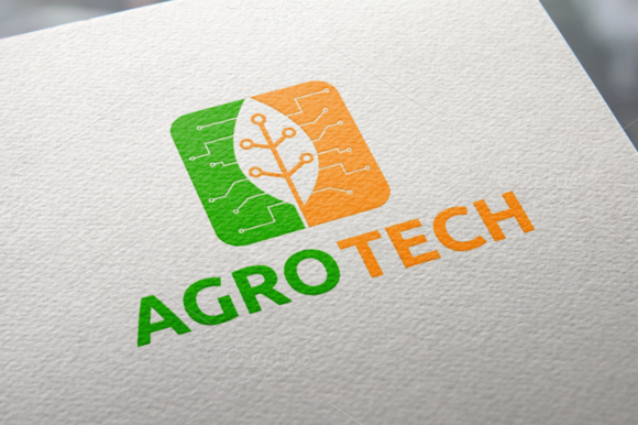 Agro Tech | Logo Template by REDVY on @creativemarket