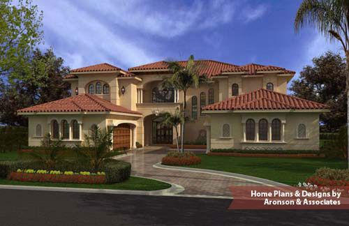 Two story  Florida Spanish Mediterranean style home features seven    Two story  Florida Spanish Mediterranean style home features seven bedrooms  six and one half bathrooms  a cabana bathroom  two two car garages  a