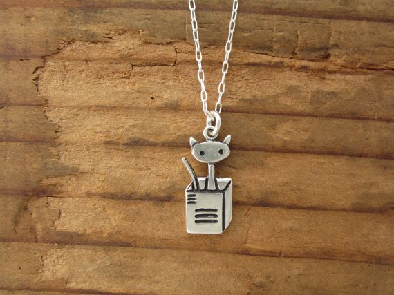 Hey, I found this really awesome Etsy listing at https://www.etsy.com/listing/196005253/cat-in-a-box-necklace-cat-necklace