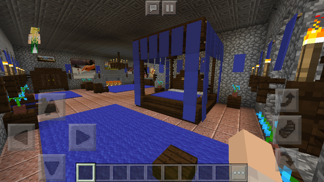 Minecraft Glasscheibe chaisleán na mban glas green casle guest bedroom minecraft