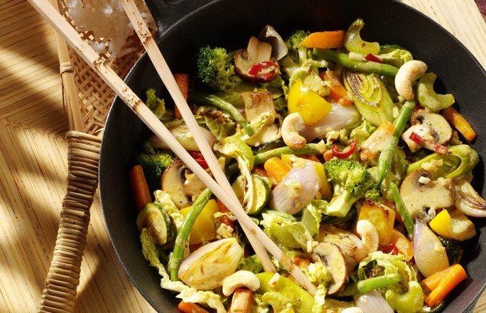 Einfache salate ohne fleisch