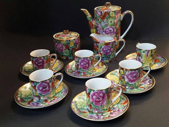 Chinese Porcelain Coffee Set Coffee Set Chinese Porcelain Tea Cups