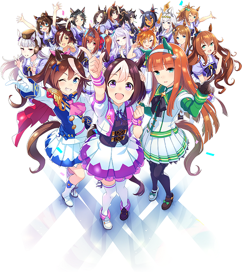 Uma Musume Pretty Derby anime premieres in Spring 2018 ヽ