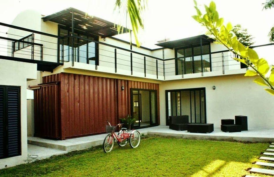 5 Modelos Híbridos de Casa Container Plantas de casa