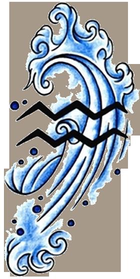 Aquarius Tattoos Designs | Aquarius tattoo, Zodiac tattoos, Tattoos for guys