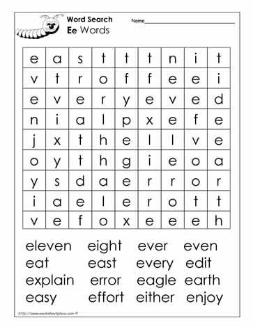 Initial Letter Puzzle Crossword