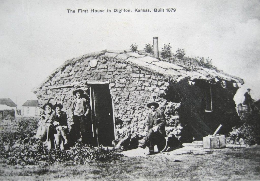1879 House In Kansas My Grandmother Lived In A Dugout House When