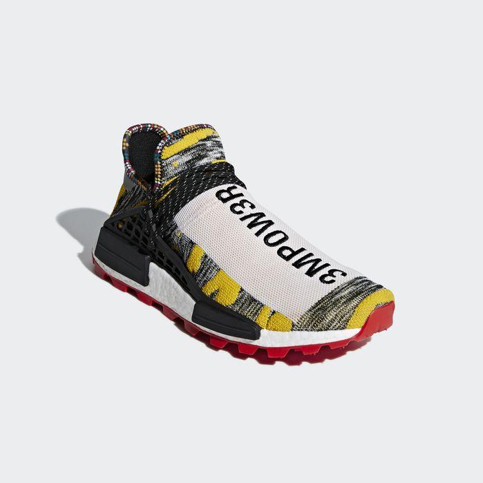 ADIDAS ORIGINALS X Pharrell Williams PW Solar Hu NMD Afro Pack Red BB9527 yellow
