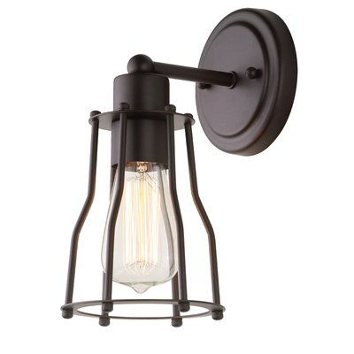 Williston Forge Ewing 1 Light Bath Sconce Products Wall