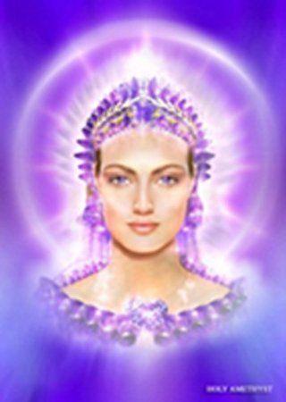 Lady Ametistalinda Femenino Sagrado Infinity Pinterest