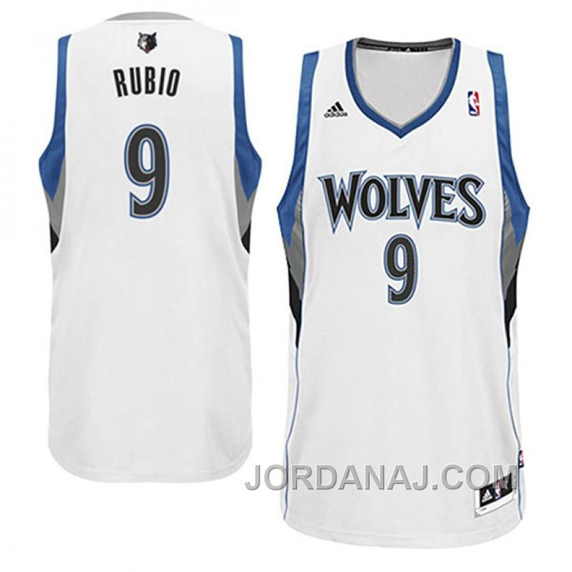 Buy Ricky Rubio Minnesota Timberwolves Revolution 30 Swingman White Jersey  from Reliable Ricky Rubio Minnesota Timberwolves 2015 2016 Adidas NBA ... 03cb29340