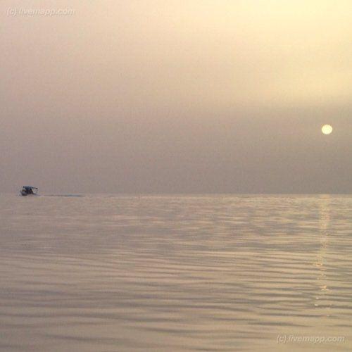 Kuwait Sunset  livemapped by @faisalem