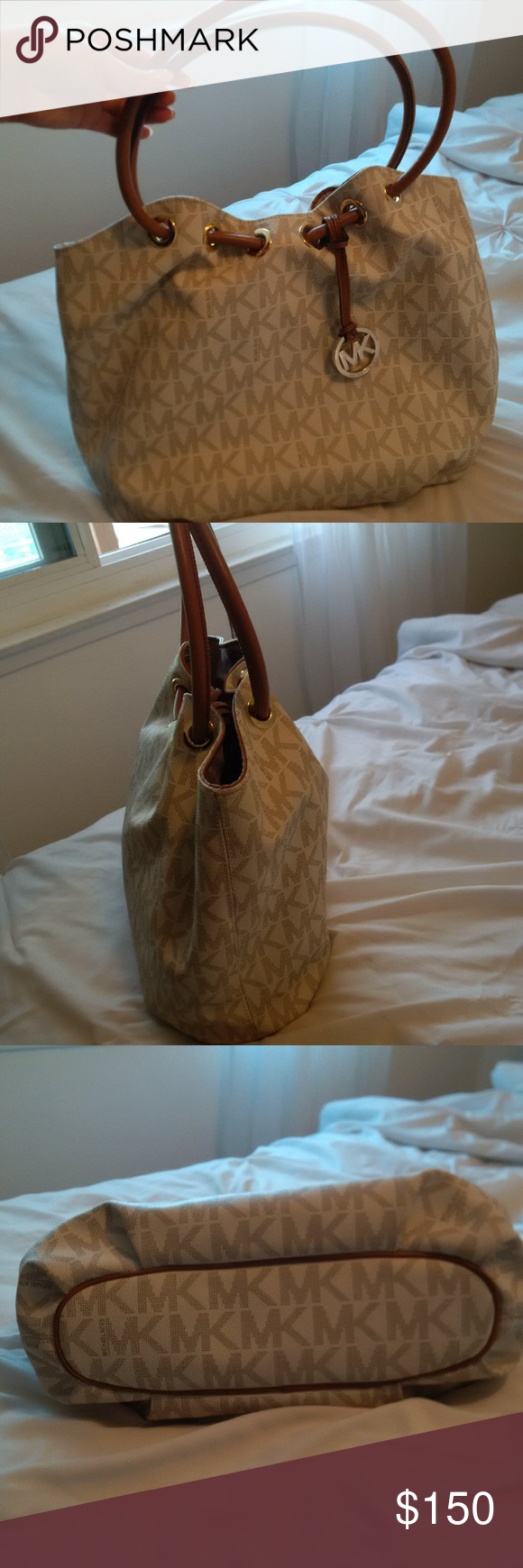 MICHAEL KORS shoulder and/or hand tote. 18' by 13' Michael Kors Bags Totes