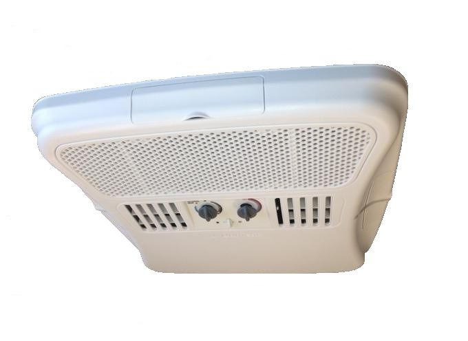 Duotherm Non Ducted Air Distribution Box With Ceiling Controls Polar White Rv Air Conditioner Repair Marine Electronics