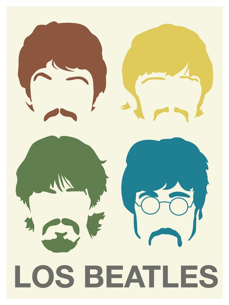 Los Beatles Poster Beatles Poster Beatles Art The Beatles