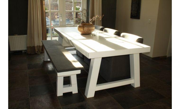 10x witte houten eettafels keukentafel pinterest comedores en
