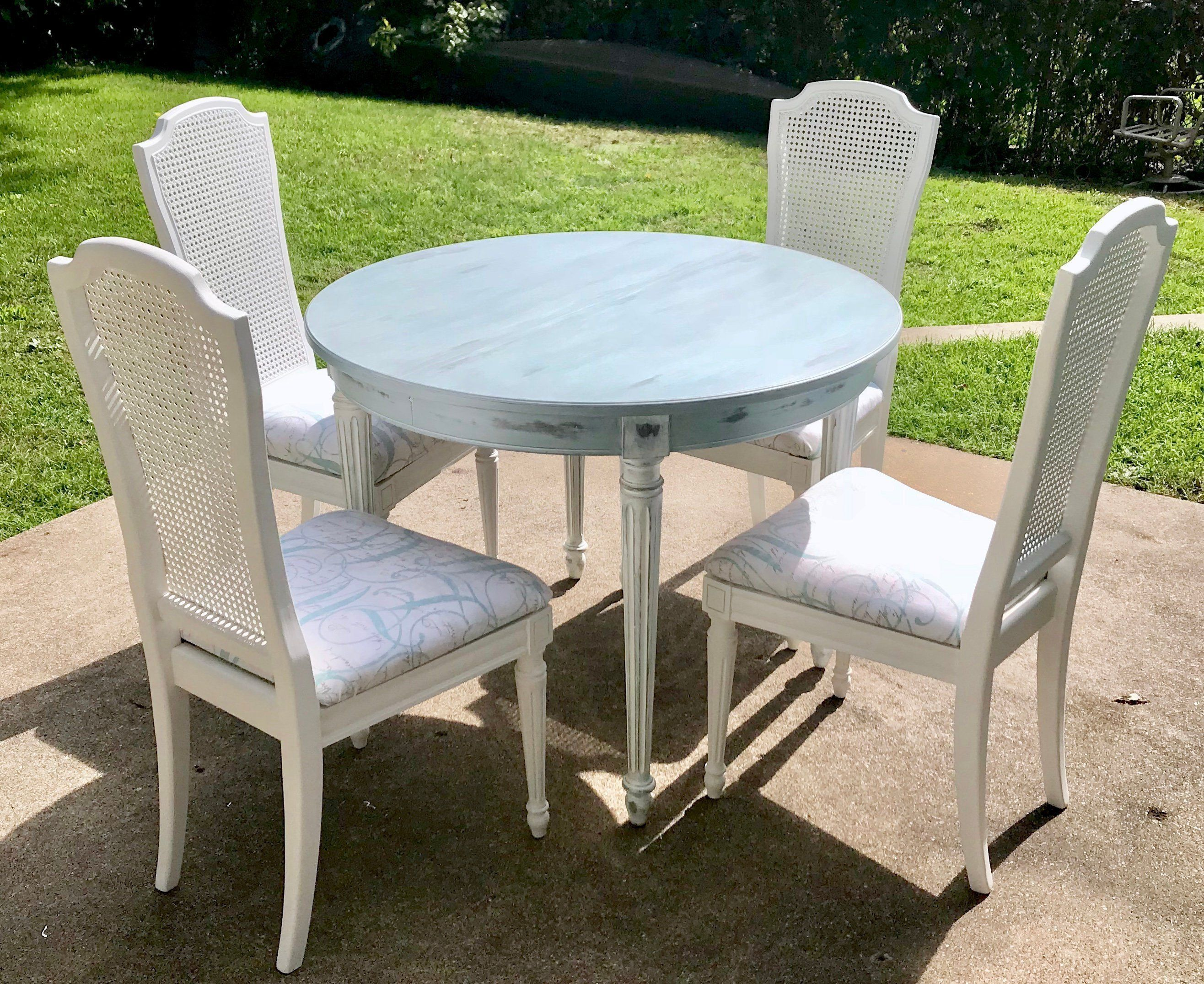 Sold Thomasville Dining Set Dining Table And Chairs French Farmhouse Table Round Dining Table Table And Chairs Refurbished Farmhouse Dining Chairs Outdoor Furniture Chairs Leather Dining Chairs