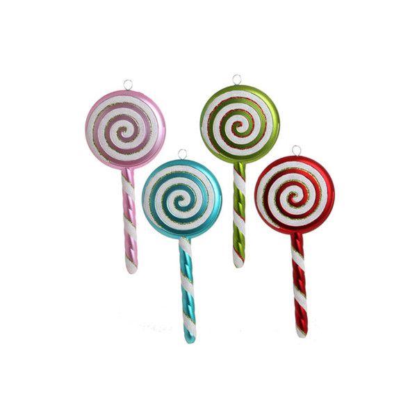raz lollipop christmas ornament 14 liked on polyvore