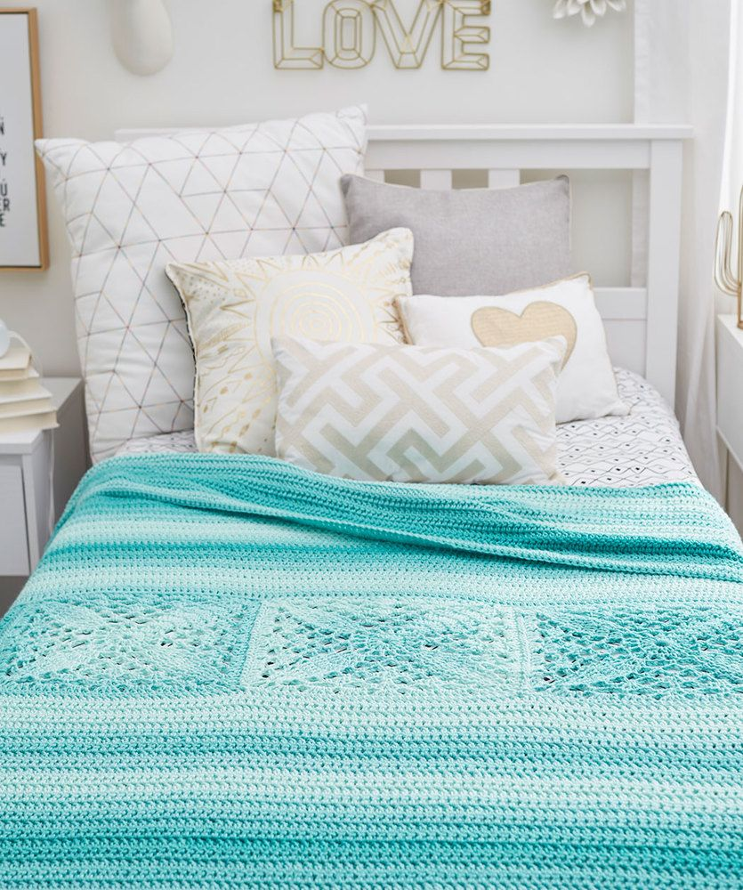 Easy New Crochet Throws/afghans Free Patterns | CROCHET; Cubrecamas ...