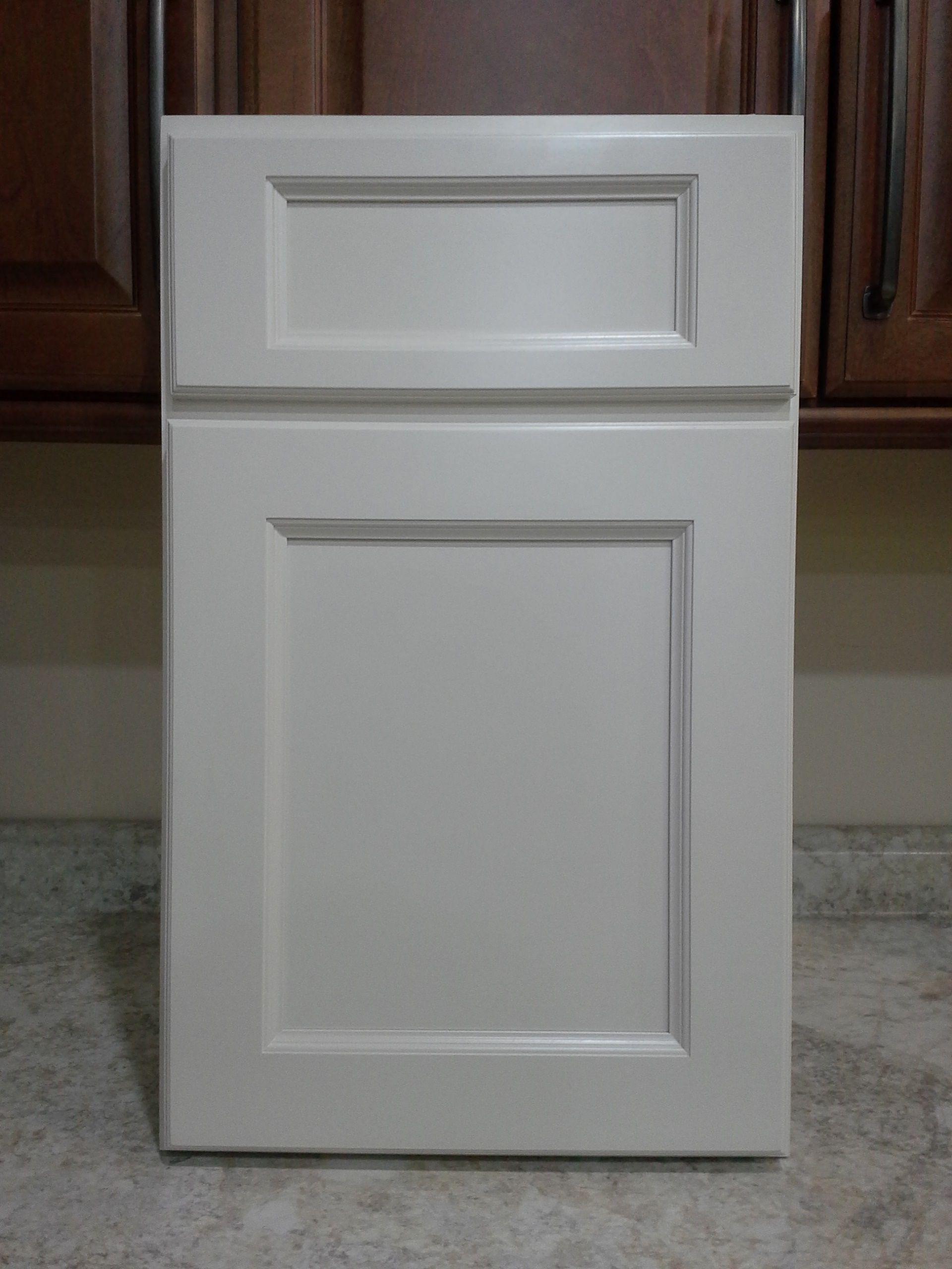 Echelon Addison door style Maple in Linen enamel paint by ACPI ...
