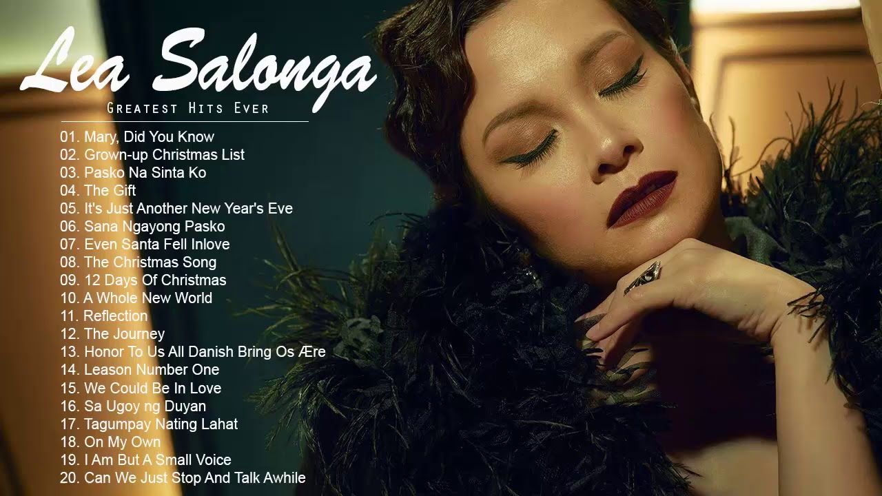 Lea Salonga Love Song Collection Best Of Lea Salonga