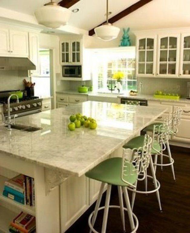 Resultado de imagen para isla cocina pequeña | Cocinas | Pinterest ...