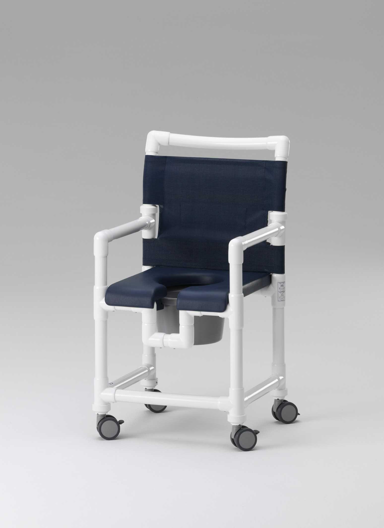 chaise toilette douche multifonctionnelle rcn mà dical pvc idà es