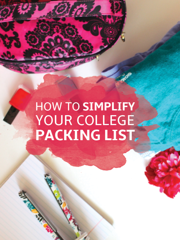 What Not to Bring to College (Simplify Your Packing List!) #collegepackinglist
