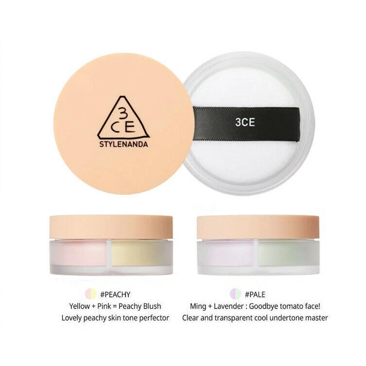 3CE] Blur Filter Powder 7g #PALE / #PEACHY K-beauty – BEST BEAUTIP