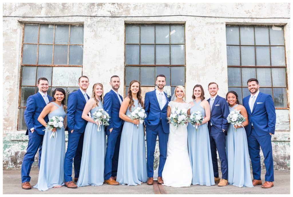 A Slate Blue Wedding at the Southern Bleachery   Yessica Grace Photography
