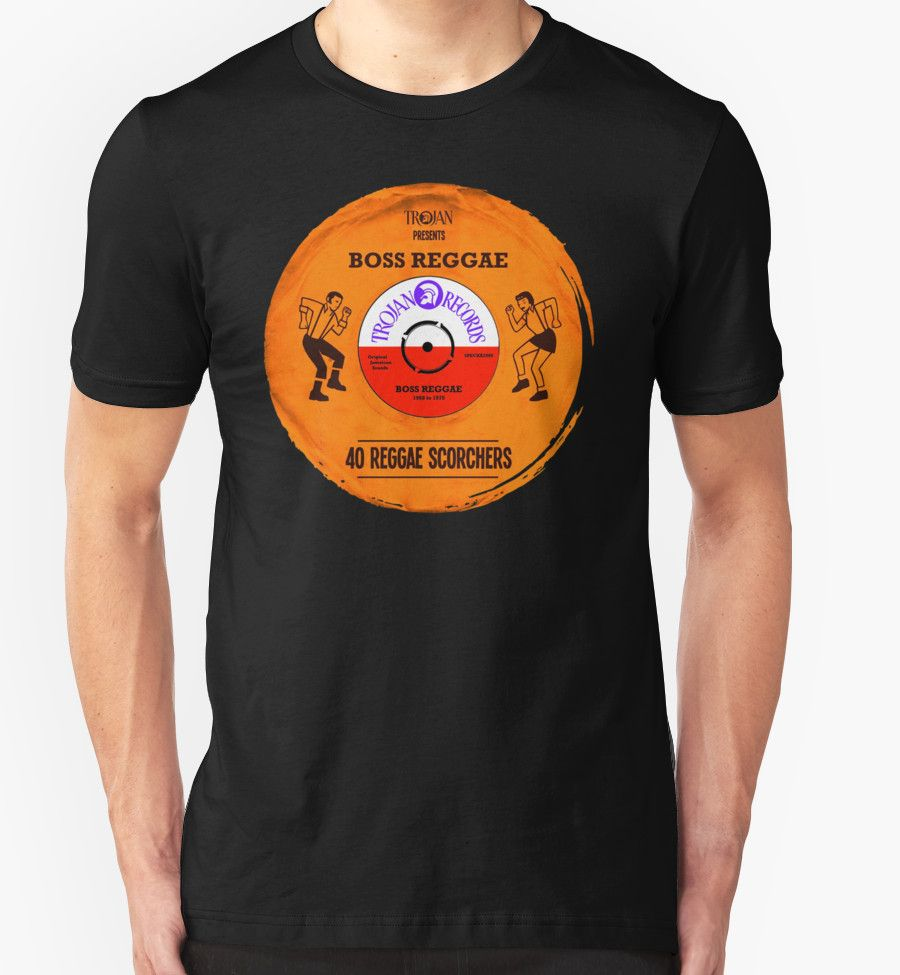 Trojan records vinyl boss reggae t shirts hoodies by canyon river t shirt pooptronica