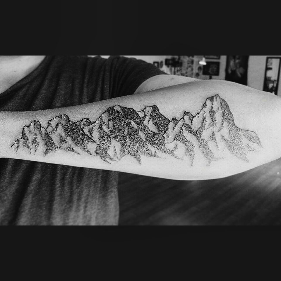 My Mountains Puebla, México Tattoos, Nature tattoos