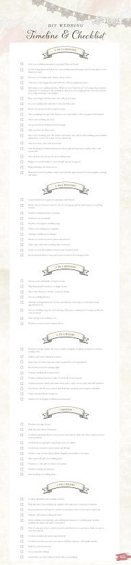 DIY wedding timeline and checklist free printable | Wedding timeline, Wedding planning timeline ...