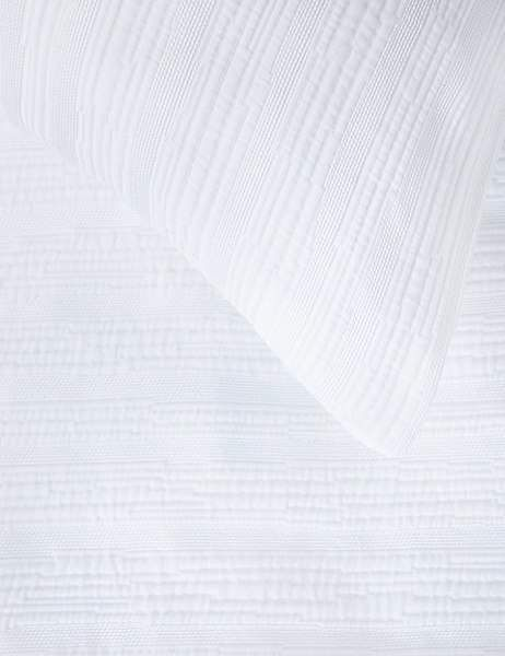 Marks and Spencer Pure Cotton Meadow Matelassé Bedding Set Paper Wallpaper, Damask Wallpaper, Harlequin