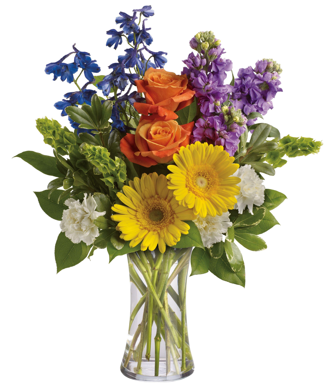 Beautiful Day Fresh flowers arrangements, Traditional