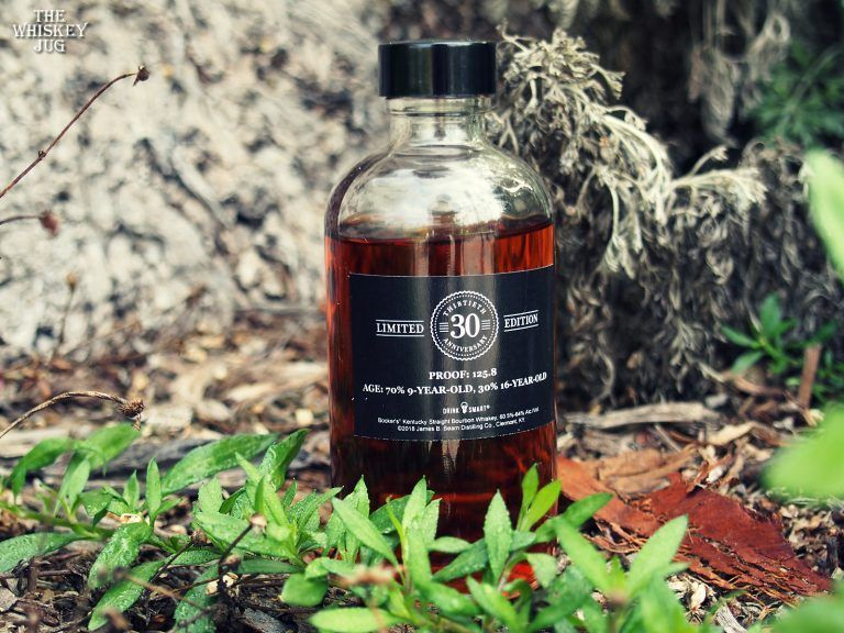 Bookers 30th anniversary bourbon review the whiskey jug