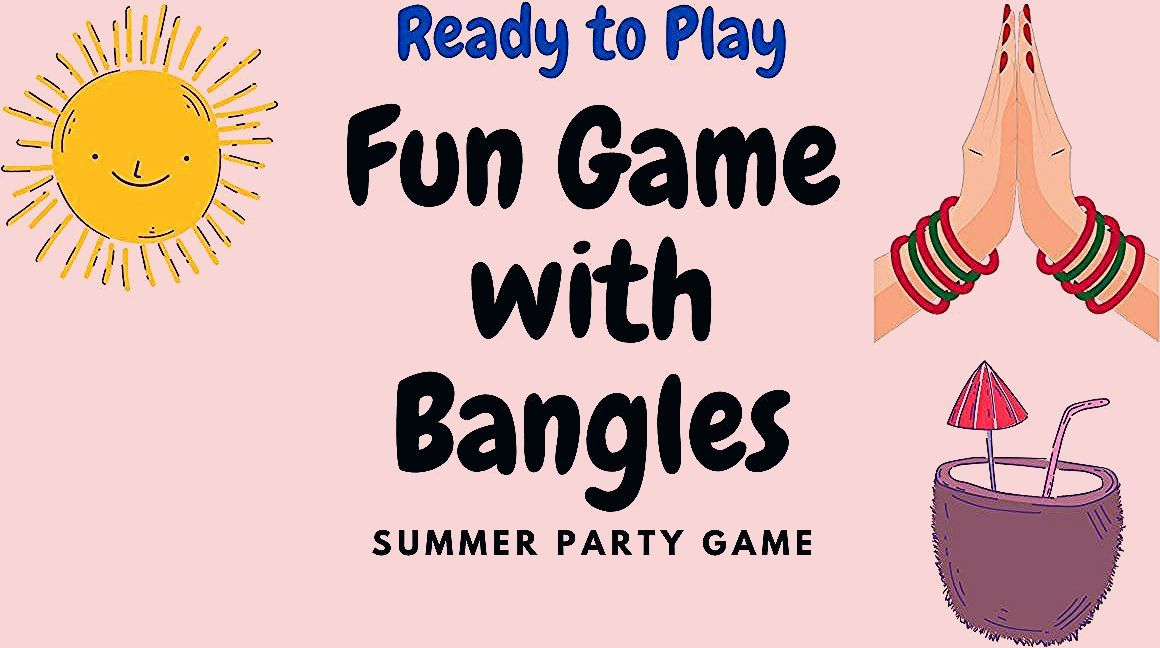 Photo of Ready to Play Hook Bangles Game|Fun game with Straw|Summer Party Game for Ladies Kitty Party