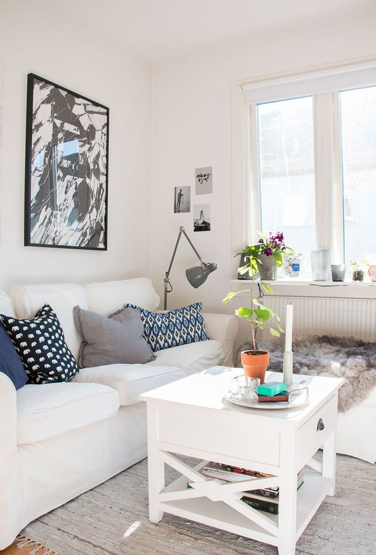 Heimkino schlafzimmer design-ideen home tour small  natural scandi style in gothenburg  inspiration