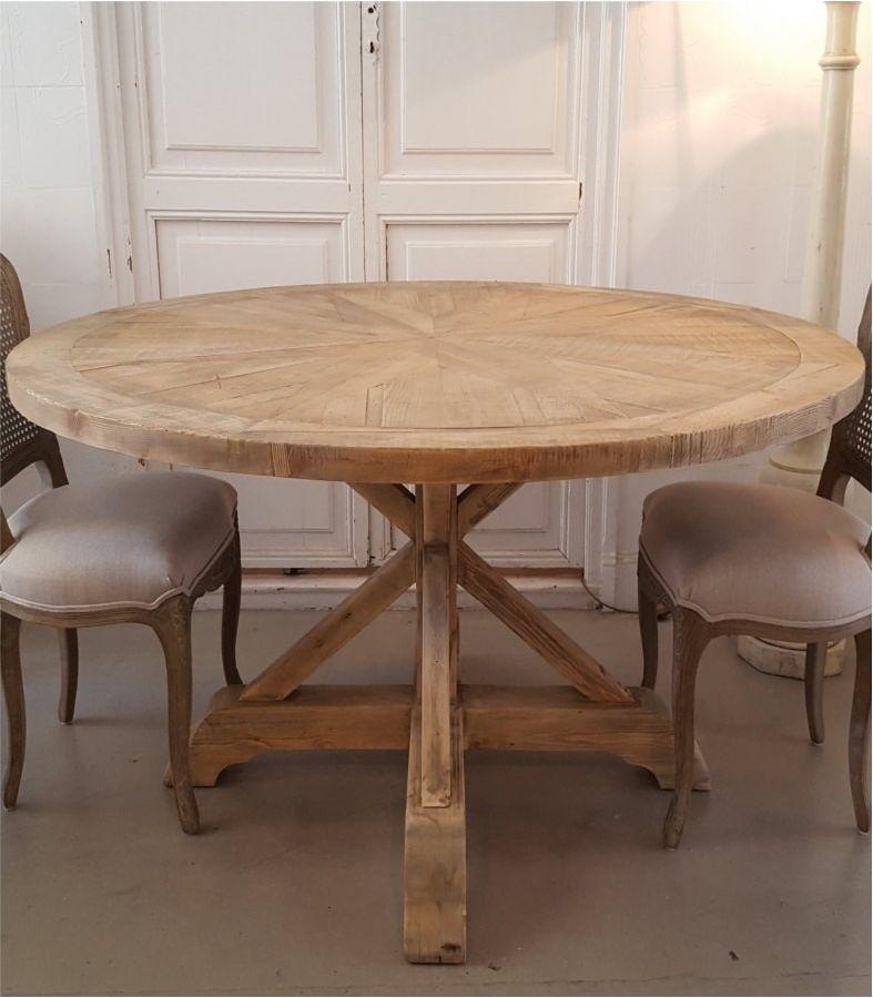 Mesa comedor redonda mosaico | Palet | Comedor redonda ...