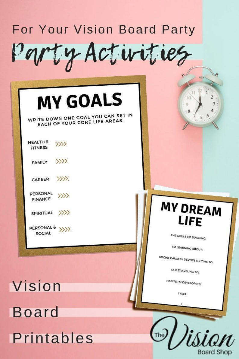 Goals Board DIY Offices goals memes lifestyle in 2020