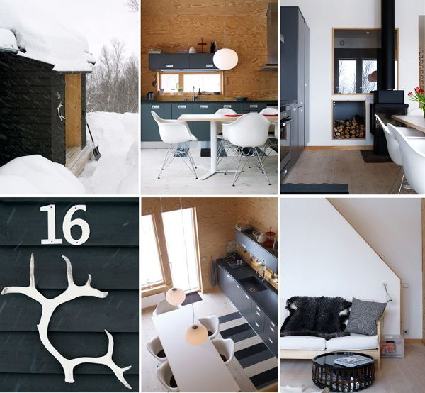 50 Modern Scandinavian Kitchens That Leave You Spellbound: Roundup: 12 Cozy Scandinavian Modern Cabins