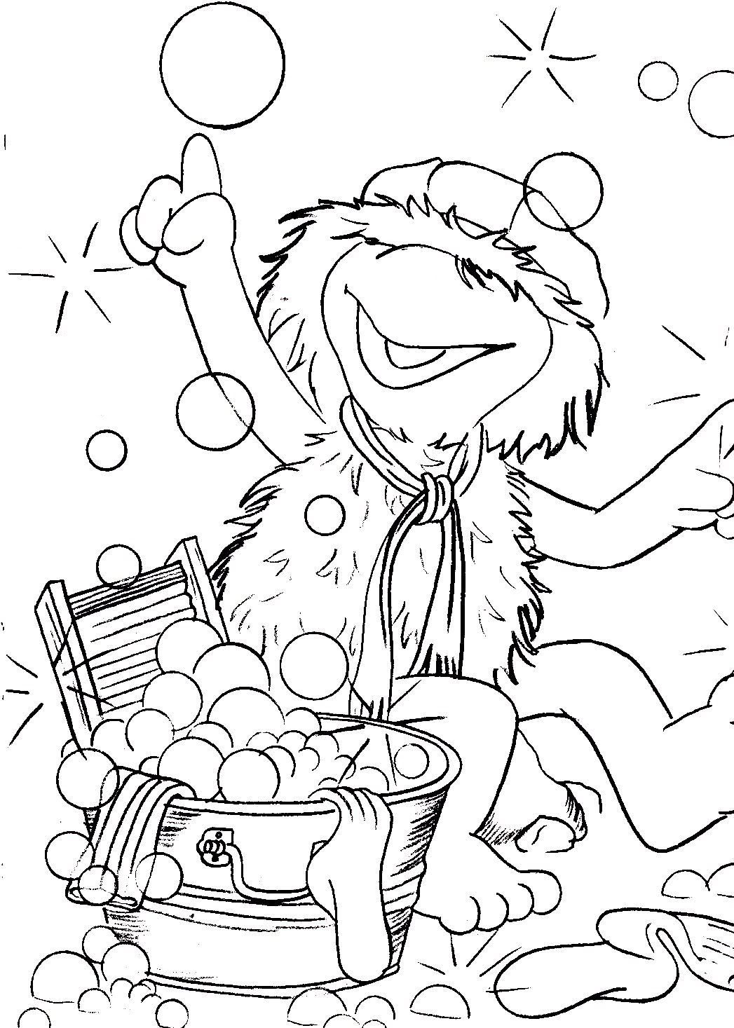 Fraggle Rock Coloring Pages Muppet Central Forum Coloring