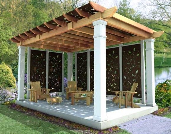 How to Build a Pergola Attached to the House | How to Build a Freestanding  Pergola? - How To Build A Pergola Attached To The House How To Build A