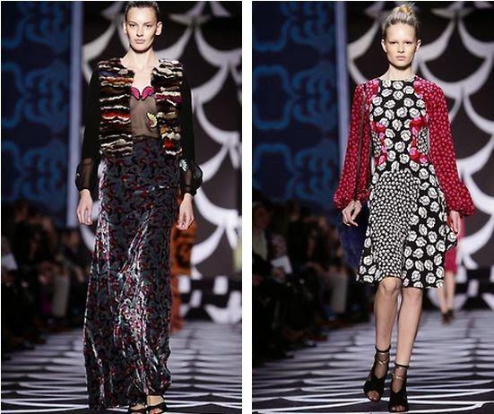 Coco e l'Istrione: DVF, l'iconico wrap dress e la classe degli outfit della NYFW14