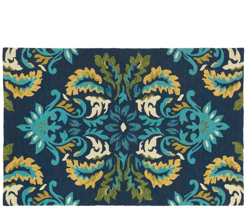 Love This Rug! The Colors Are Perfect. Boston Interiors Margie Ultramarine  Rug   3